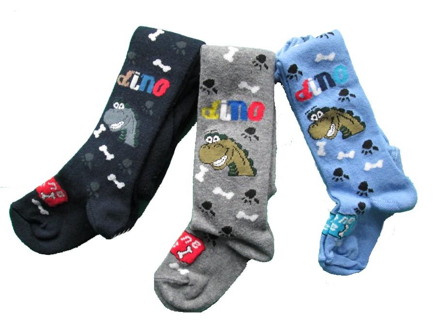 Dětské punčocháčky Design Socks - dinosaurus