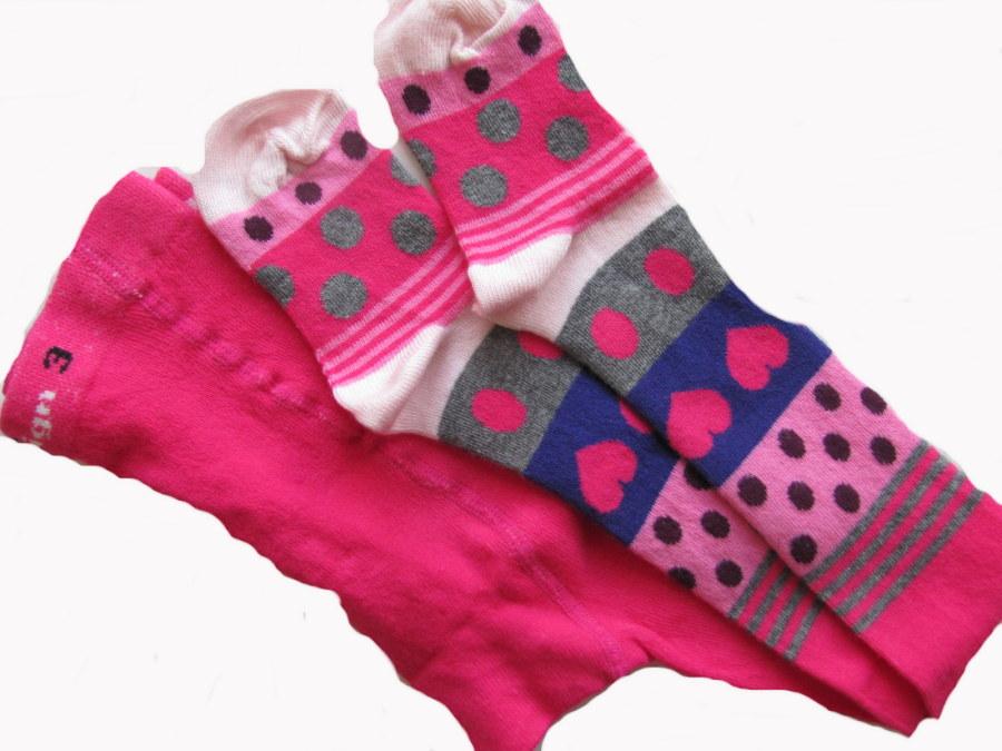 Dětské punčocháčky Design Socks proužek puntík