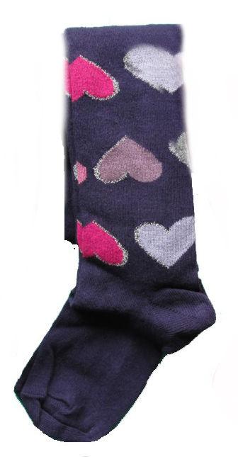 Dětské punčocháčky Design Socks Srdíčko