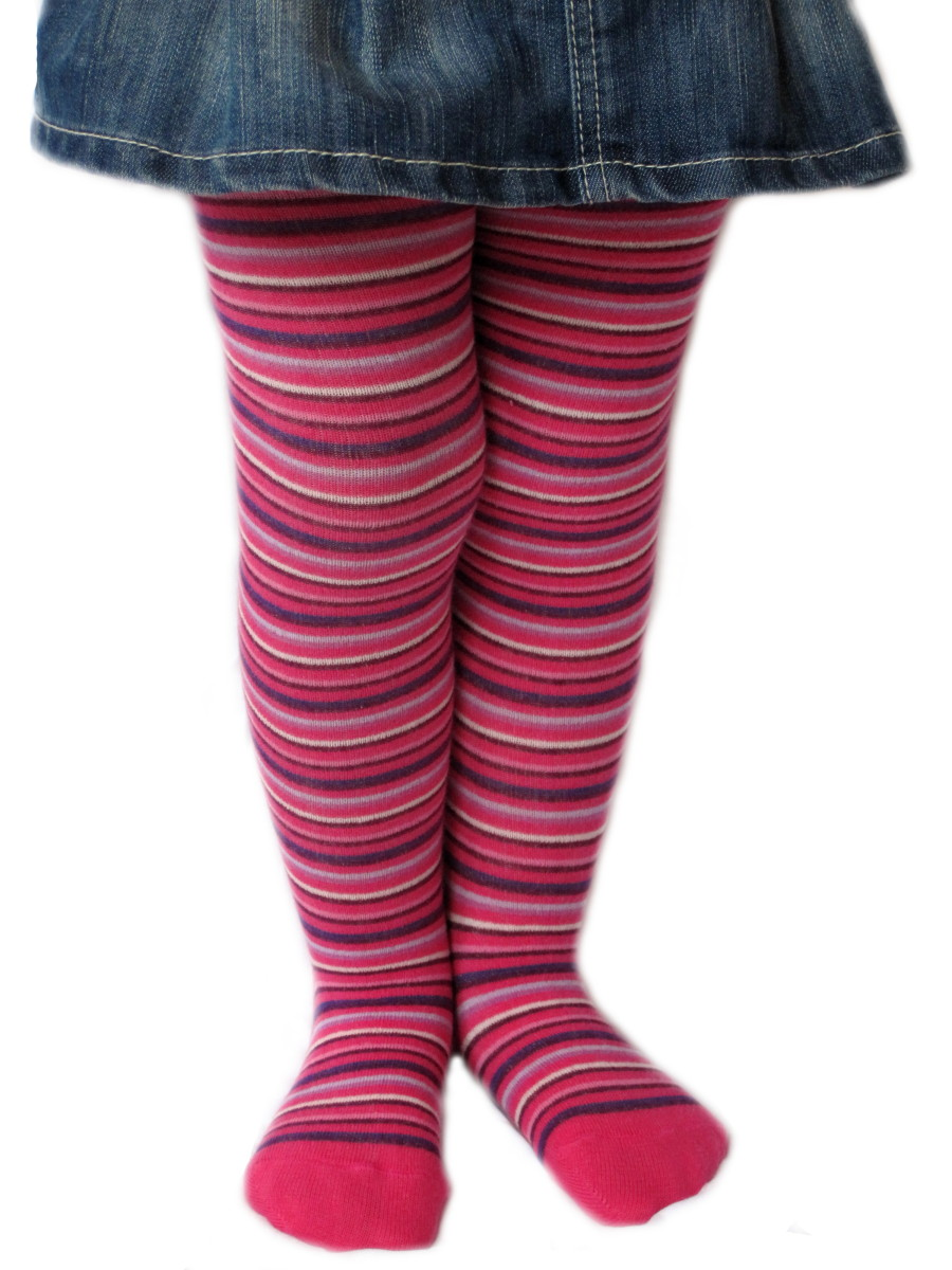 Dětské punčocháčky Design Socks - úzké proužky