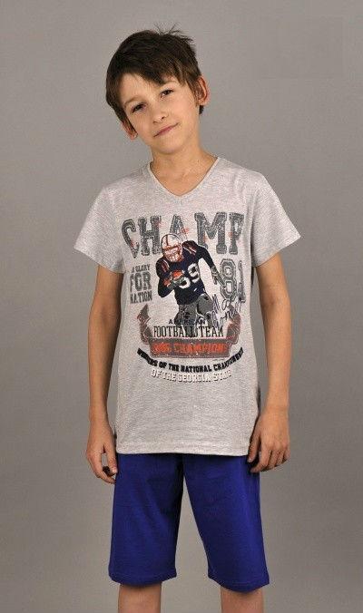 Dětské pyžamo bermudy Vienetta Secret Champions