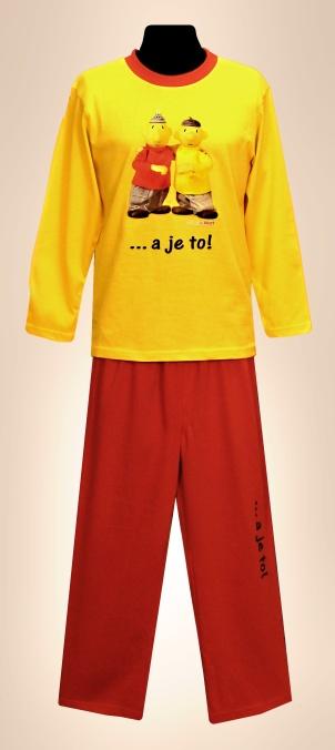 Dětské pyžamo (dl.rukáv) - Pat a Mat