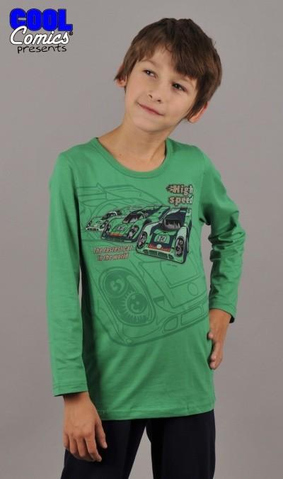 Dětské pyžamo dlouhé Auto Vienetta Secret High Speed