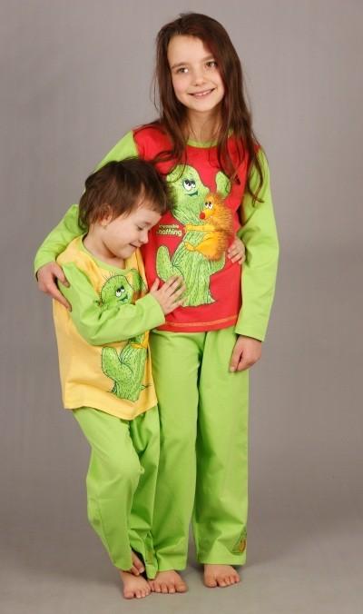 Dětské pyžamo dlouhé Ježek