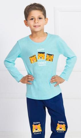 Dětské pyžamo dlouhé Vienetta Secret Kamarádi