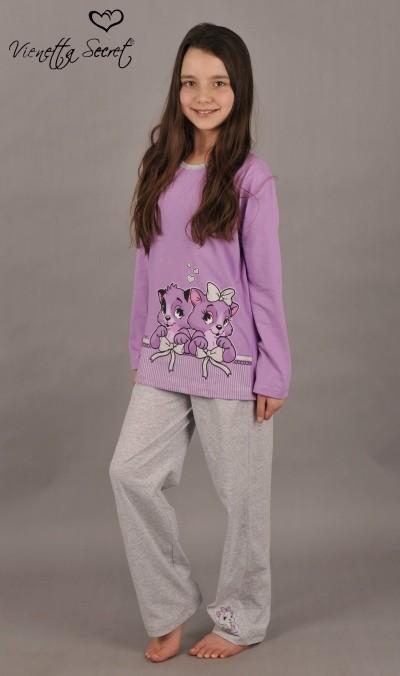 Dětské pyžamo dlouhé Koťata