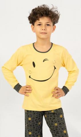 Dětské pyžamo dlouhé Vienetta Secret Patrik