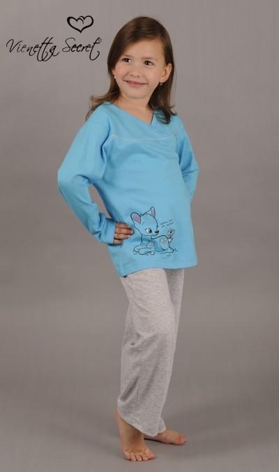 Dětské pyžamo dlouhé Srnečky