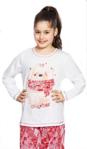 Dětské pyžamo dlouhé Vienetta Secret Adventure velké
