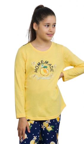 Dětské pyžamo dlouhé Vienetta Secret Alice