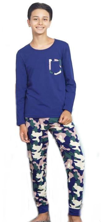 Dětské pyžamo dlouhé Vienetta Secret Army