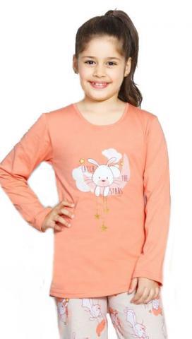 Dětské pyžamo dlouhé Vienetta Secret Králík malý