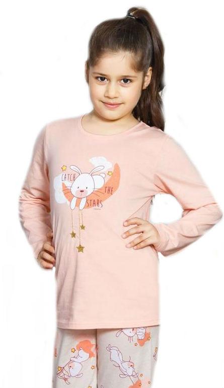 Dětské pyžamo dlouhé  Vienetta Secret Králík velký