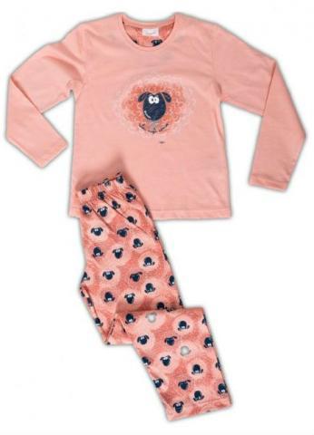 Dětské pyžamo dlouhé Vienetta Secret Malá ovce