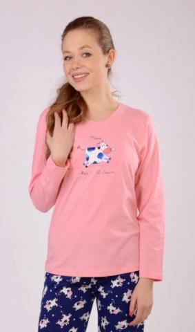 Dětské pyžamo dlouhé Vienetta Secret Malé tele