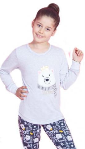 Dětské pyžamo dlouhé Vienetta Secret Méďa Dreamer