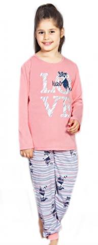 Dětské pyžamo dlouhé Vienetta Secret Mýval