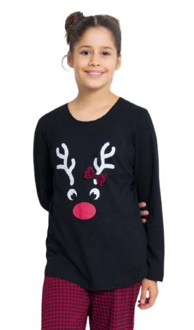 Dětské pyžamo dlouhé Vienetta Secret Sob