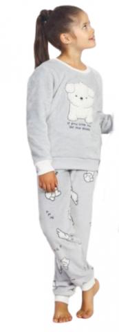 Dětské pyžamo dlouhé Vienetta Secret Štěňátko