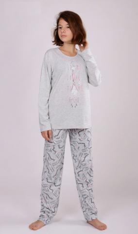 Dětské pyžamo dlouhé Vienetta Secret Žirafa Long