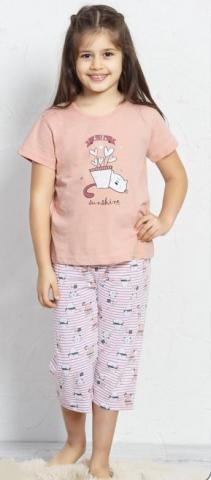Dětské pyžamo kapri Vienetta Secret Koťátko