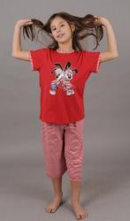 Dětské pyžamo kapri Vienetta Secret Králíci v triku
