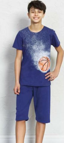 Dětské pyžamo kapri Vienetta Secret Basketball
