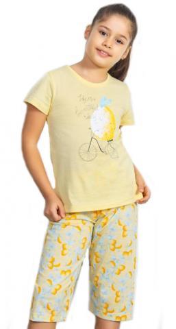 Dětské pyžamo kapri Vienetta Secret Citron