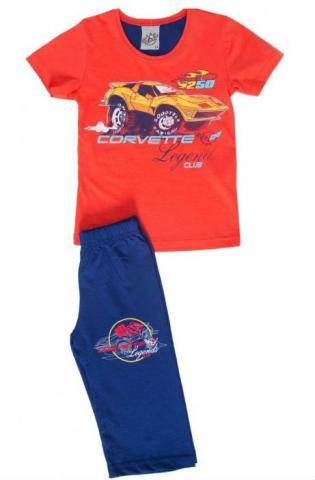 Dětské pyžamo kapri Vienetta Secret Corvette