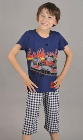 Dětské pyžamo kapri Vienetta Secret Formule 1