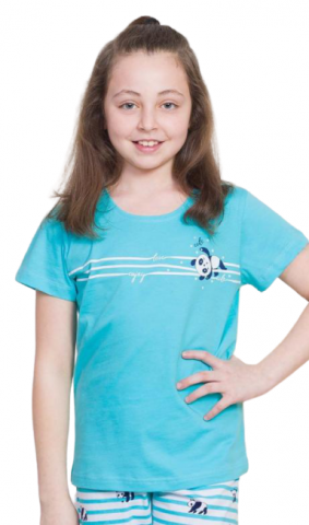 Dětské pyžamo kapri Vienetta Secret Karolína