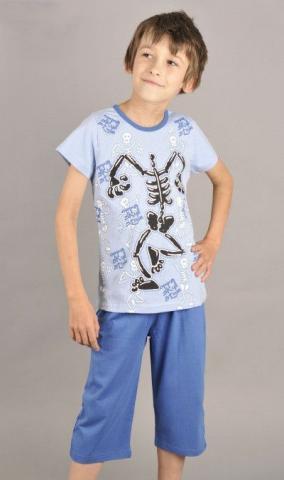 Dětské pyžamo kapri Vienetta Secret Kostra