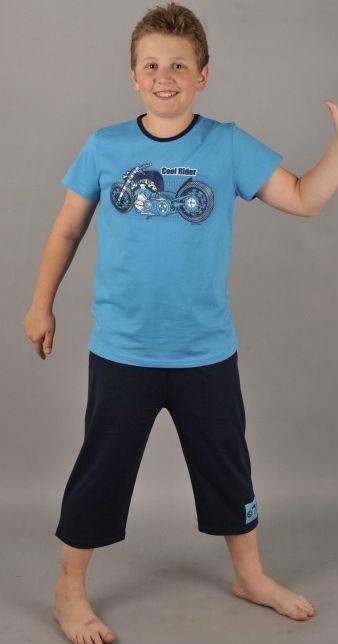 Dětské pyžamo kapri Vienetta Secret Motocykl Rider