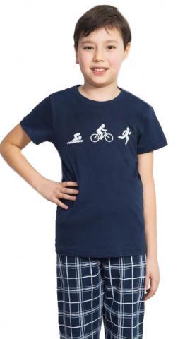 Dětské pyžamo kapri Vienetta Secret Triatlon