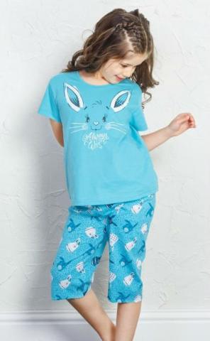 Dětské pyžamo kapri Vienetta Secret Zajíc
