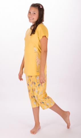 Dětské pyžamo kapri Vienetta Secret Žirafa