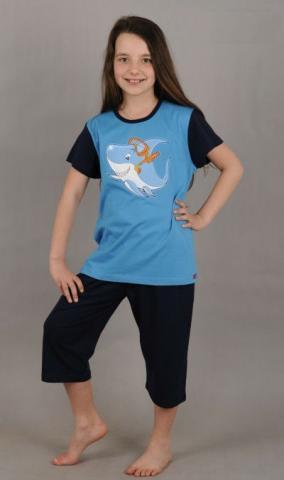 Dětské pyžamo Vienetta Secret (kapri) - Potápěč