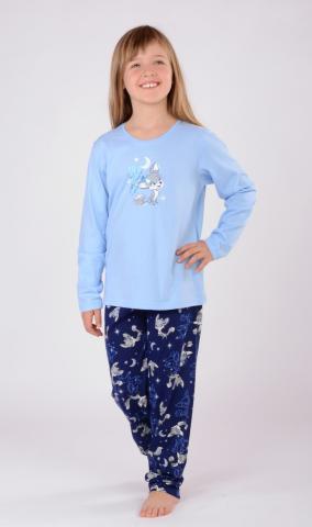 Dětské pyžamo Vienetta Secret Liška a měsíc