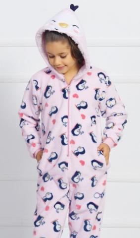 Dětský overal dlouhý Vienetta Secret Malí tučňáci