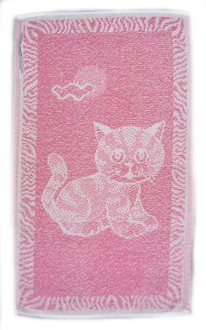 Dětský ručník - Kotě modré 30x50 cm
