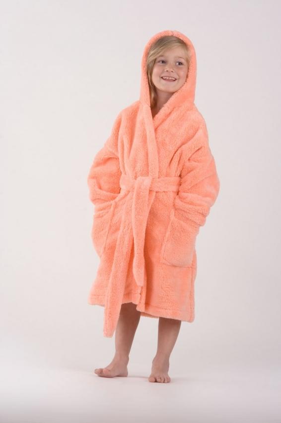 Dětský župan Vestis 9119 Lilly s kapucí