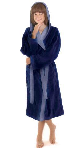 Dětský župan Vestis 9159 Tampa DUO modrá