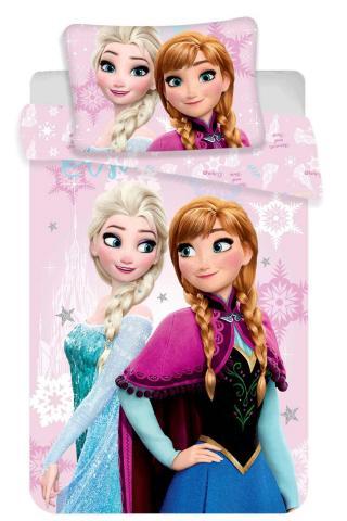 Disney povlečení do postýlky Frozen pink baby