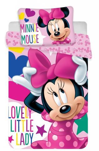 Disney povlečení do postýlky Minnie baby