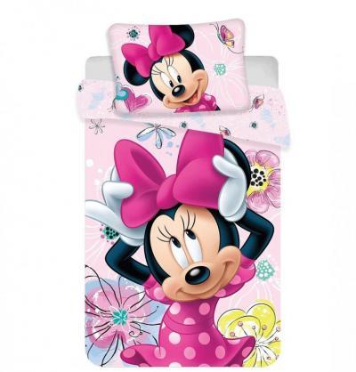 Disney povlečení do postýlky Minnie Butterfly baby