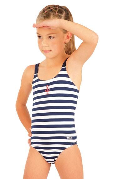 Dívčí jednodílné plavky Litex 57537