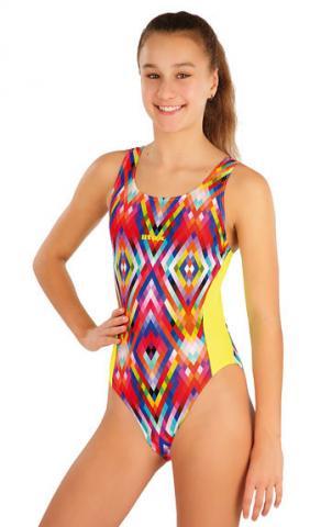 Dívčí jednodílné sportovní plavky Litex 57569