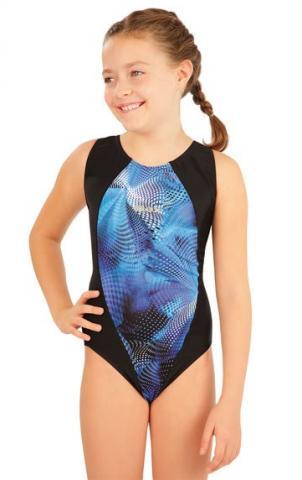 Dívčí jednodílné sportovní plavky Litex 63637