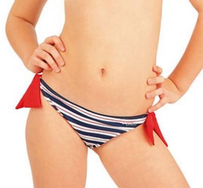 Dívčí plavkové kalhotky bokové Litex 52582