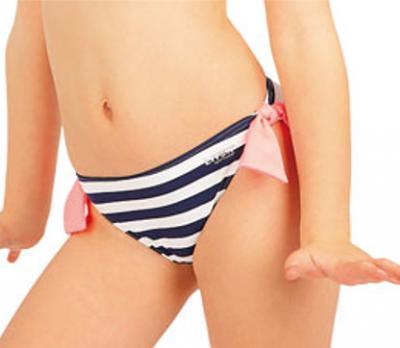 Dívčí plavkové kalhotky bokové Litex 52590